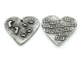 Be The Kind of Person - Pewter Pendant 34mm (PW871)