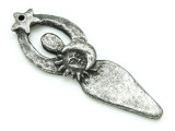 Celestial Goddess - Pewter Pendant 68mm (PW874)