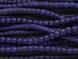Cobalt Blue Glass Maasai Trade Beads 5-6mm (AT7184)