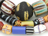 Old Assorted African Trade Beads (RF806)