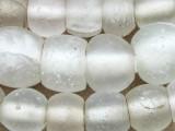 Old Clear Dutch Dogon Glass Trade Beads - Mali  (RF825)