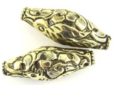 Brass Ornate Tibetan Bead 44mm (TB490)