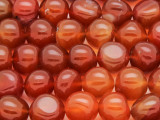 Carnelian Irregular Round Gemstone Beads 10-13mm (GS4087)