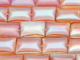 Pink Opalite Rectangle Tabular Gemstone Beads 19mm (GS4097)