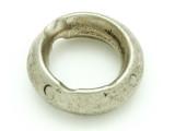 Ethiopian Silver Ring - Amulet 31mm (ER279)