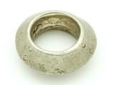 Ethiopian Silver Ring - Amulet 36mm (ER305)