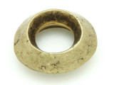 Ethiopian Brass Ring - Amulet 38mm (ER309)