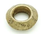 Ethiopian Brass Ring - Amulet 38mm (ER310)