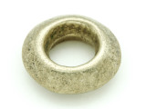 Ethiopian Brass Ring - Amulet 36mm (ER312)