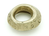 Ethiopian Brass Ring - Amulet 37mm (ER313)