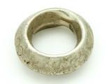 Ethiopian Silver Ring - Amulet 35mm (ER316)
