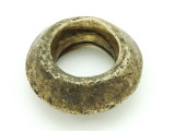Ethiopian Brass Ring - Amulet 36mm (ER320)