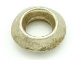 Ethiopian Silver Ring - Amulet 36mm (ER322)