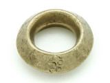 Ethiopian Brass Ring - Amulet 37mm (ER323)