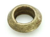 Ethiopian Brass Ring - Amulet 36mm (ER324)