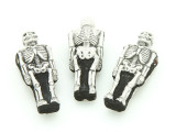 Skeleton Painted Ceramic Bead 31mm - Peru (CER105)