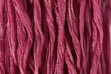"Dark Rose Pink Hand Stitched Silk Fairy Ribbon 42"" (SK1019)"