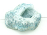 Blue Druzy Agate Pendant 40mm (GSP1622)
