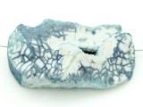 Blue Druzy Agate Pendant 51mm (GSP1632)