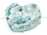 Blue Druzy Agate Pendant 44mm (GSP1636)