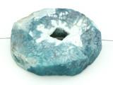 Blue Druzy Agate Pendant 46mm (GSP1643)