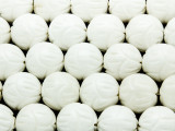 Carved Round Shell Beads 15mm (SH554)