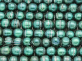 Teal Green Irregular Round Pearl Beads 6-8mm (PRL200)