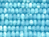 Sky Blue Rondelle Resin Beads 10mm (RES608)