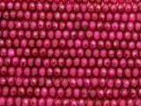 Ruby Jade Faceted Rondelle Gemstone Beads 5mm (GS4151)