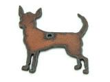 Chihuahua - Rustic Iron Pendant (IR186)