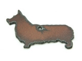 Corgi - Rustic Iron Pendant (IR191)