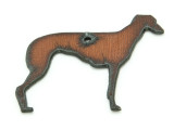 Greyhound - Rustic Iron Pendant (IR194)