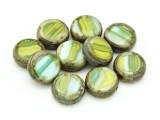 Czech Glass Beads 13mm (CZ1207)