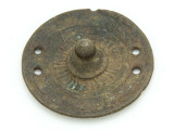 Old Brass Medallion 63mm - Ethiopia (ME451)