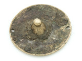 Old Brass Medallion 58mm - Ethiopia (ME454)