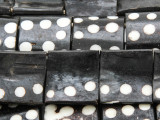 Batik Domino Bone Beads 22mm - Kenya (BA7026)