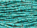 Turquoise Short Tube Beads 2-3mm (TUR1288)