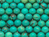 Turquoise Round Beads 10mm (TUR1300)
