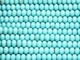 Turquoise Howlite Rondelle Gemstone Beads 6mm (GS4173)