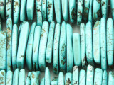 Turquoise Howlite Large Chip Gemstone Beads 25-30mm (GS4197)