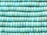 Turquoise Magnesite Heishi Gemstone Beads 8mm (GS4204)