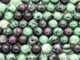 Ruby Zoisite Round Gemstone Beads 8mm (GS4210)