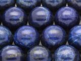 Lapis Lazuli Round Gemstone Beads 20mm (GS4223)