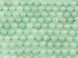 Aventurine Faceted Round Gemstone Beads 6mm (GS4229)