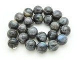 Labradorite Round Gemstone Beads 18mm (GS4232)