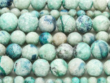 Chrysoprase Graduated Round Gemstone Beads 5-12mm (GS4235)