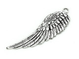 Wing (right) - Pewter Pendant 66mm (PW887)