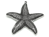 Starfish - Pewter Pendant 68mm (PW897)