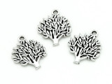 Tree - Pewter Pendant 20mm (PW1181)