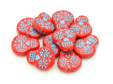 Czech Glass Beads 19mm (CZ1222)